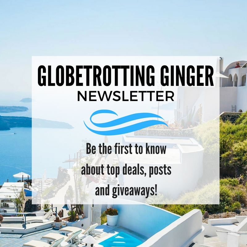Globetrotting Ginger Travel newsletter