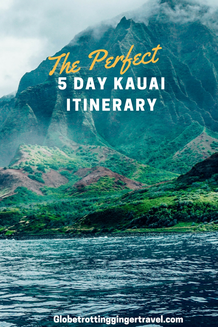 The Perfect Pink Lipstick For Every Bride: The Perfect Kauai Itinerary